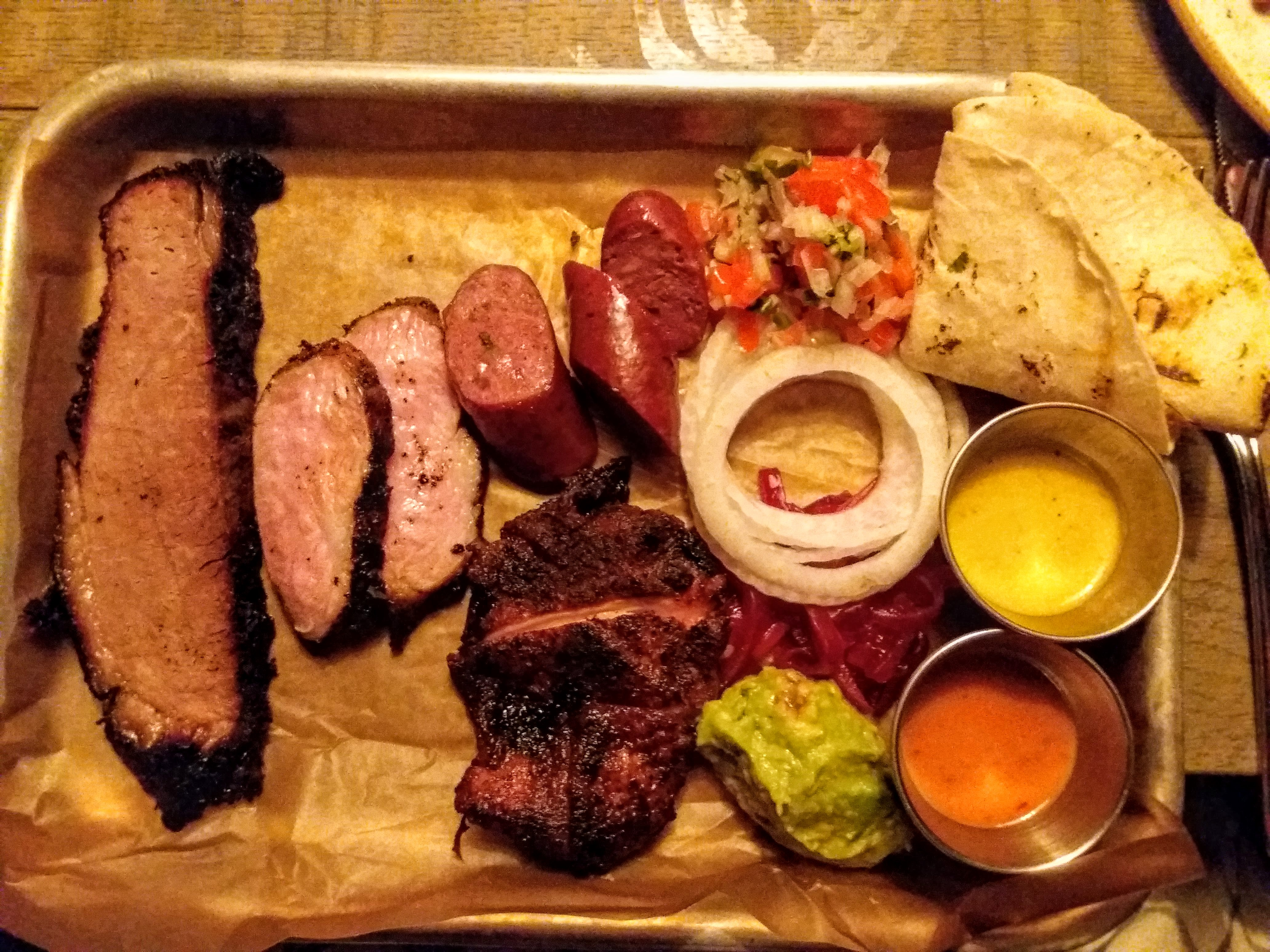 TGNAD - Austin Food Works BBQ platter