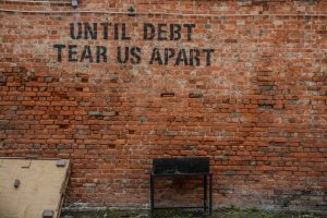 Until Debt Tears Us Apart